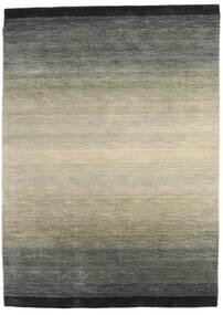 Loribaf Loom Koberec 167X231 Moderní Ručně Tkaný Tmavošedý/Světle Šedá (Vlna, Indie)
