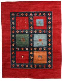 Gabbeh Loribaft Koberec 198X258 Moderní Ručně Tkaný Červenožlutá/Tmavě Modrý (Vlna, Indie)