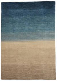 Gabbeh Indické Koberec 158X240 Moderní Ručně Tkaný Světle Hnědá/Tmavě Modrý (Vlna, Indie)