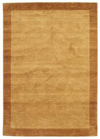 Handloom Frame - Zlatá Koberec 160X230 Moderní Světle Hnědá/Hnědá (Vlna, Indie)