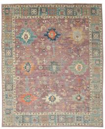 Usak Design Koberec 241X302 Moderní Ručně Tkaný Tmavě Červená/Hnědá (Vlna, Afghánistán)